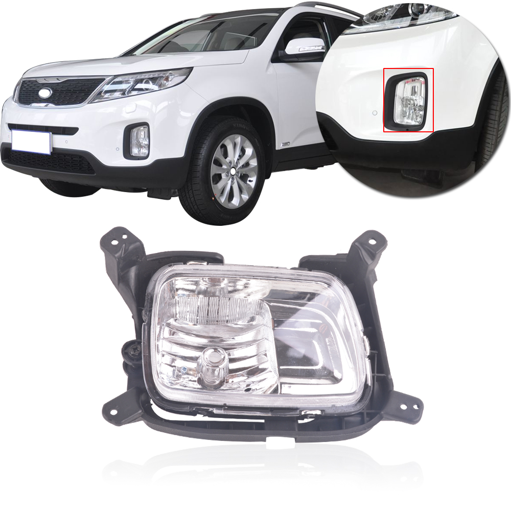 Capqx Front Bumper Fog Light For Kia Sorento 2 2t 2 4l