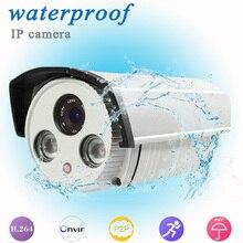 Горячие продажи открытый HD 720 P Водонепроницаемый Пуля IP Камера системы охранной сигнализации ONVIF ночного Поддержка дистанционного управления на смартфон