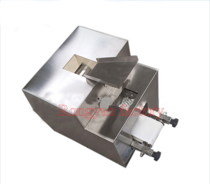 High efficiency automatic dumpling skin machine inter thick edge thin wrapper without waste size and thickness adjustable