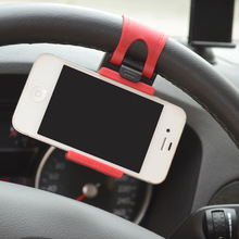 Universal Mobile Car phone holder Steering Wheel Clip Mount Phone Car Holder For iPhone Samsung huawei support stand