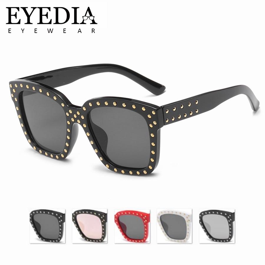 8d4dfe6c89 Hot Sexy Rimless Oversized Sunglasses Women Vintage Red Pink Luxury Brand Sun  Glasses For Female Rivet Big Frame Shades 58018CJ
