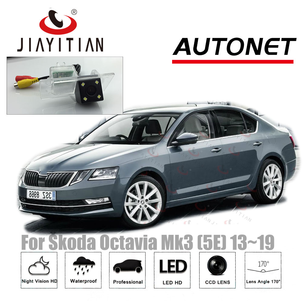 JiaYiTian rear camera For Skoda Octavia III A7 (Typ 5E) Wagon Sedan MK3 2013~2018 CCD/Night Vision/Backup Camera/Reverse Camera цена 2017