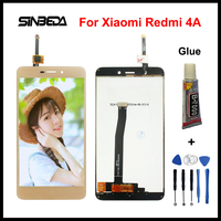 Sinbeda AAA Quality LCD Display Screen For Xiaomi Redmi 4A Black White Gold Touch Panel Screen