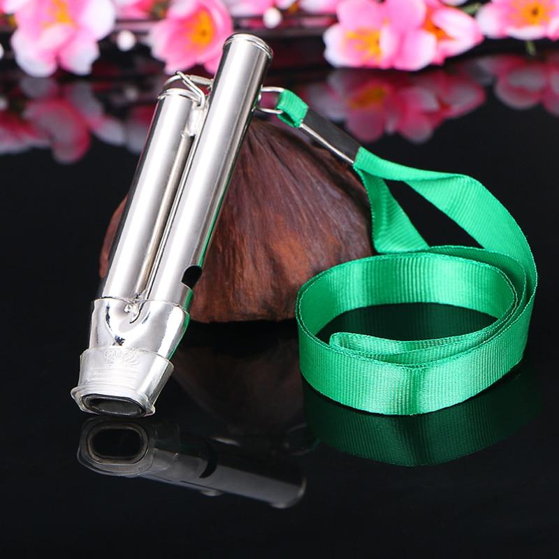 Roestvrij staal Loder Sound Seedless Professional Instrument Whistle - Team sporten - Foto 5