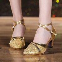 Women Ladies Open Toe Ballroom Wedding Party Latin Dance Heels Shoes Indoor Tango Salsa Shoes Dancing