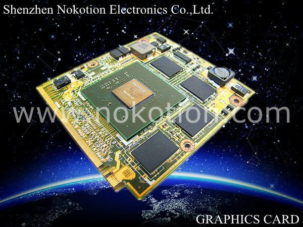 laptop graphics card NVIDIA VIDEO card GeForce 8600M GT for LENOVO Y510 08G2020SD20ILV