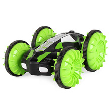 2.4Ghz Remote Control Rc Car Waterproof Off Road Racing Climbing Amphibious 4Wd Toys Cars,Green