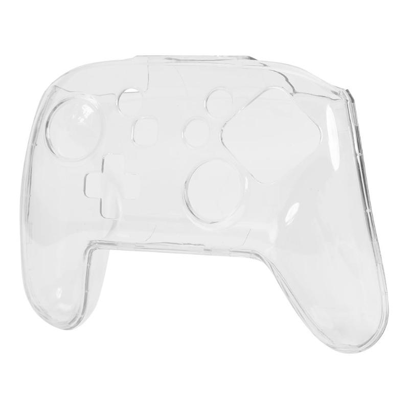 Game Console Case Cover Clear Crystal Gamepad Hard Protective Cover Case Fit for Nintend Switch Pro Console