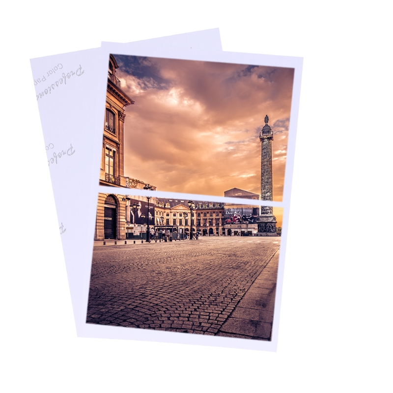 """100 Sheets Glossy 4R 4""""x6"""" Photo Paper 200gsm For Inkjet Printers Drop Shipping Support"""