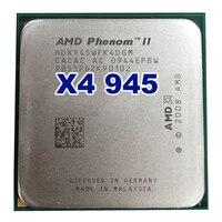 רשמי המקורי של AMD Phenom II X4 945 מעבד מעבד 3.0 GHz Socket AM2 +/AM3 938pin L3/6 M Quad-CORE 95 W