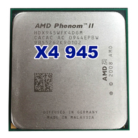 Free Shipping Original AMD Phenom II X4 945 CPU Processor 3 0GHz Socket AM2 AM3 938pin
