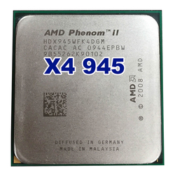 Ufficiale Originale AMD Phenom II X4 945 processore CPU 3.0GHz Socket AM2 +/AM3 938pin L3/6 M Quad-CORE 95W