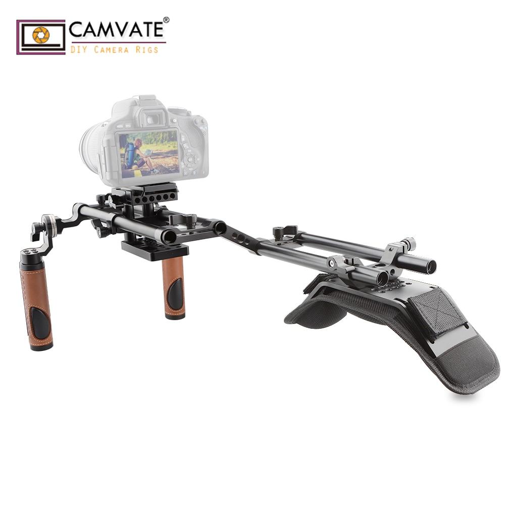 CAMVATE Ergonomique Conception Bon Reflex Numérique Épaule Rig pour Dslr et Caméscope C1769 caméra photographie accessoires