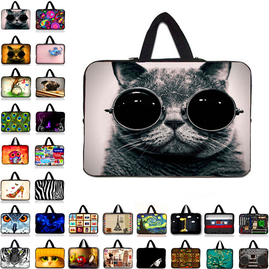 Multiple color Soft Laptop Sleeve 10.1 13 15 15.6 inch Laptop Bag Case For Macbook Air 13 Pro Retina 15 Notebook Bags 12 14