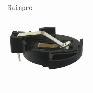 Image 2 - Rainpro 10 개/몫 CR2032 CR2025 BS 3 배터리 홀더 2032 버튼 셀 홀더 소켓 케이스