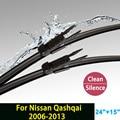 "Lâmina de limpador para Nissan Qashqai (2006-2013) 24 ""+ 15"" fit pinch tab tipo limpador braços só HY-017"