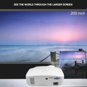 Image 2 - Портативный проектор CRENOVA XPE498 для домашнего кинотеатра, Android 7.1.2