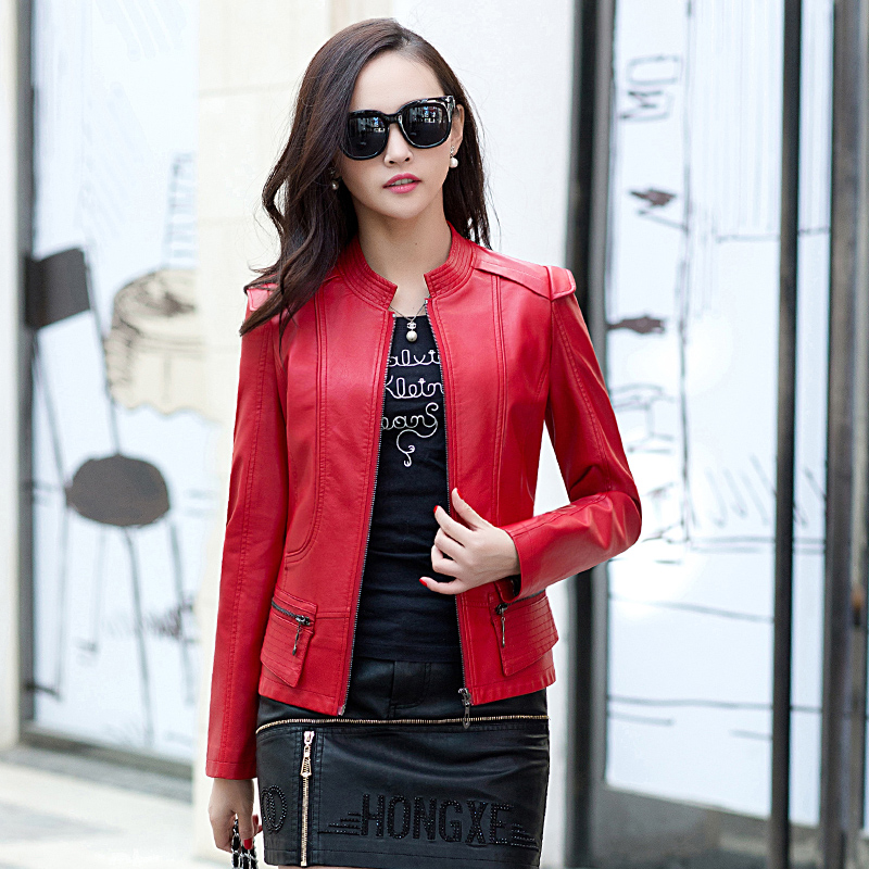 High Quality Ladies Fitted Leather Jacket-Buy Cheap Ladies Fitted ...