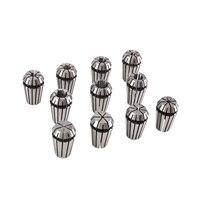 11Pcs/Set Collet Chuck ER16 CNC Lathe Tool Holder Spring Collet Chuck Drill Bit Holder For CNC Spindle Milling Motor Machine