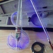 Высокое качество полный набор кристалл скрипка withLED светильник