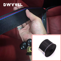 seat belts for f10 f11 f30 f32 e90 bmw 3 5 series safety belt extender extension buckle seat belts harness ribbon blue red strip