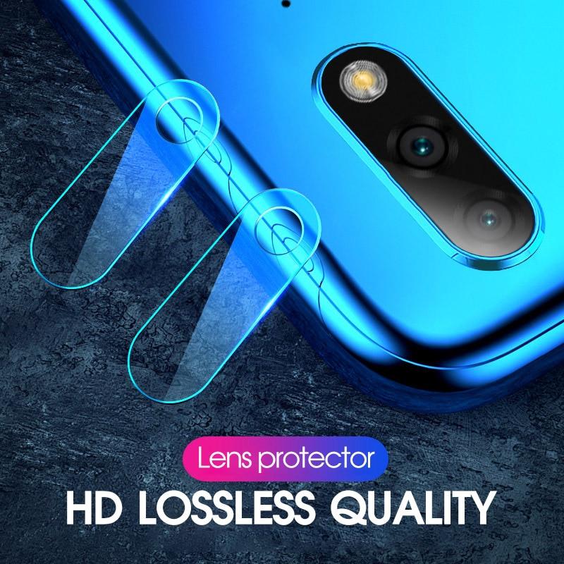 2 pièces De Lentille De Caméra Arrière Pour Huawei Honor 8X Jouer 8C Note 10 9 Lite Magique 2 9i Protecteur D'écran Pour Huawei Nova 4 3i 3E 2i HD Film