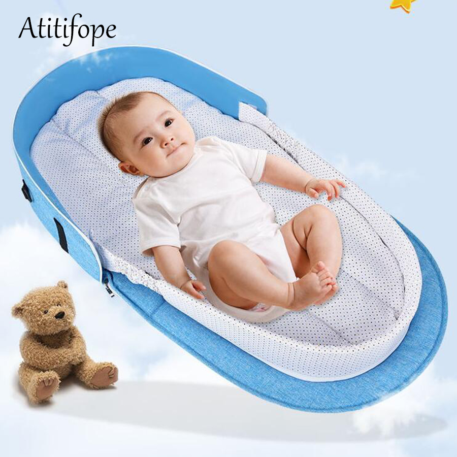 Baby sleep bed travel mummy bag multifunction diaper bag baby crib bed for outside useBaby sleep bed travel mummy bag multifunction diaper bag baby crib bed for outside use