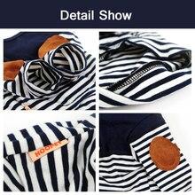 Beautiful striped navy chihuahua shirt