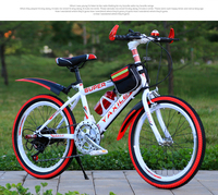 High quality carbon steel material 22 inch Frame Material Cycling Equipment manufacturer children mountain bicycle