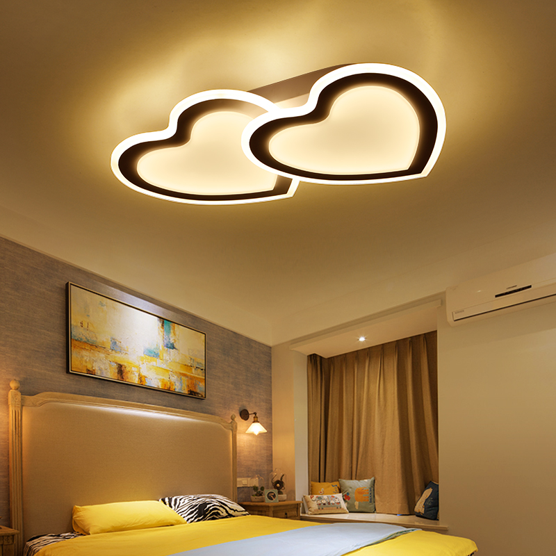 Iverson Double Heart Shaped Romantic Ceiling Lights