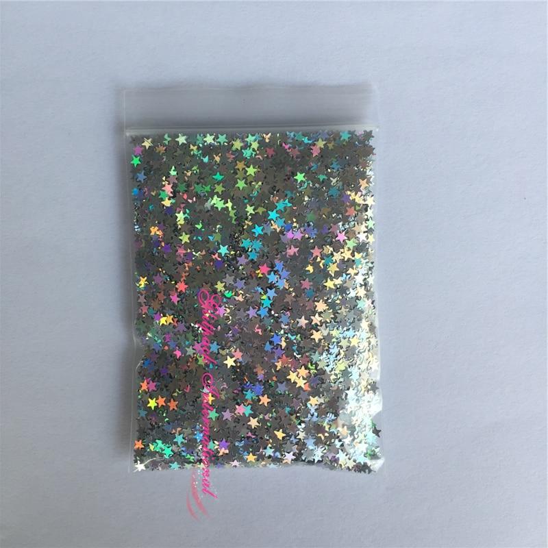 wholesale loose bulk glitter decoration stones for nails glitter 1kg nail dust decorative glitter 3mm stars nail sequins laser сумка zarina zarina za004bwazkr6