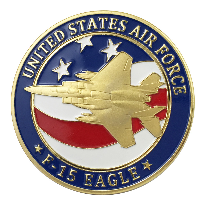 F15-9 US.Air Force `F-15 SPACE EAGLE` Aircraft Cloth Badge Patch