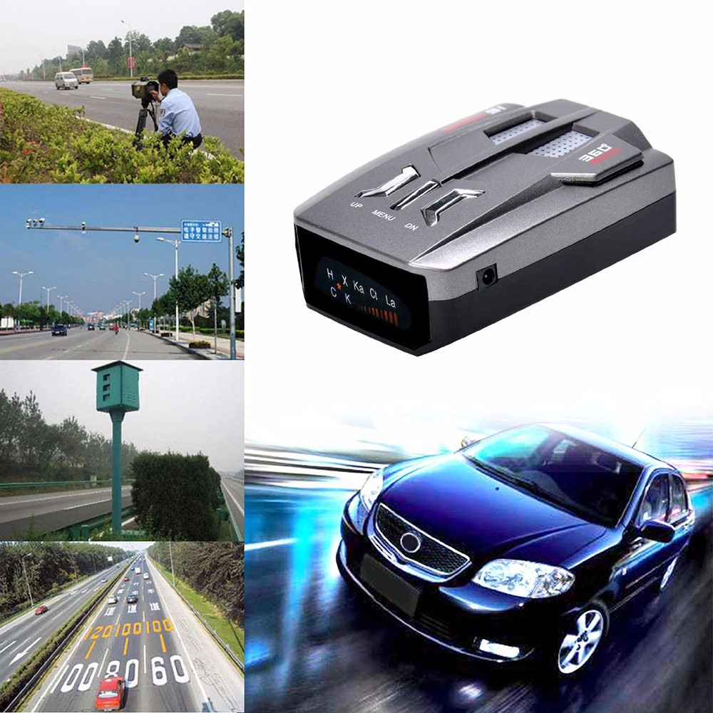 E8 Car Laser Radar Detector 360 Degree Speed Control Road