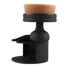 Women Fashion Beauty Makeup Cosmetic Tool Stamp Design Powder Foundation Brush