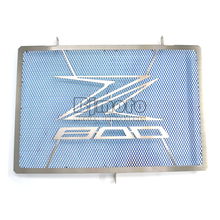 Motorcycle Engine Radiator Bezel Grill Guard Cover Protector For KAWASAKI Z800 2013 2015