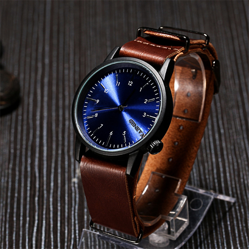 2017 watch New fashion ultrathin gold case quartz watch men geneva famous brand casual wristwatches ladies dress clock hours geneva 482 casual multiple movements men quartz watch