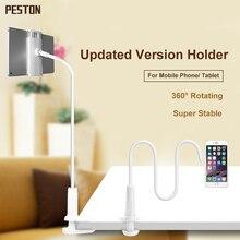 Bras Flexible Col De Cygne Support Universel De Voiture Téléphone portable de Longue Bras Paresseux De Chevet De Bureau 360 Degrés Porte-Tablette pour iPad/Mi Pad