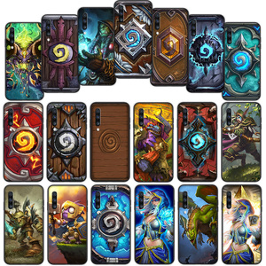Hearthstone Soft Cover Case for Samsung Galaxy A50 A6 Plus A7 A8 2018 A5 A9 A10 A30 A40 A70(China)