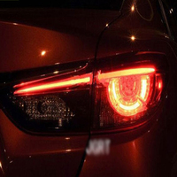 4PCS Car Styling for Mazda 6 Taillights 2014 2016 for Mazda 6 LED Tail Lamp+Turn Signal+Brake+Reverse LED light