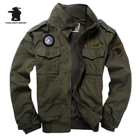 Men S 101 Flight Jackets Military Uniform Autumn And Winter Multi Pocketed Thick Tooling Casual Jacket