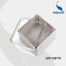 125*125*75 mm Size Clear Cover IP66 Plastic Waterproof Switch Box /Waterproof Enclosures With CE Approval (DS-AT-1212-S)