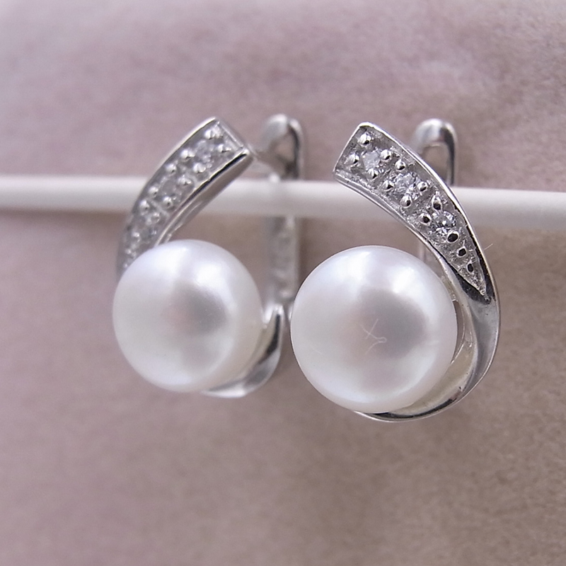 stud earrings freshwater for index pearls pearl water sterling style tassel drop natural women silver