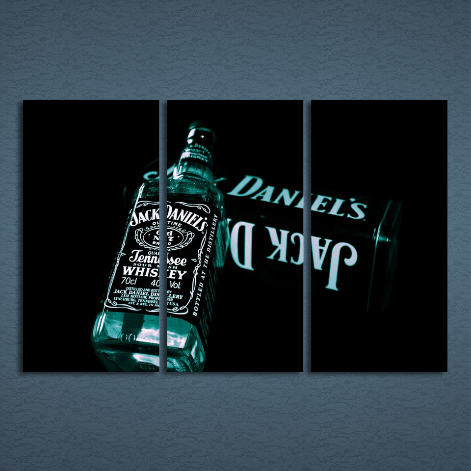 Modular wall art canvas poster home decor for living room 3 pieces modular wall art canvas poster home decor for living room 3 pieces jack daniels painting hd printed whiskey wine pictures pengda in painting calligraphy amipublicfo Gallery