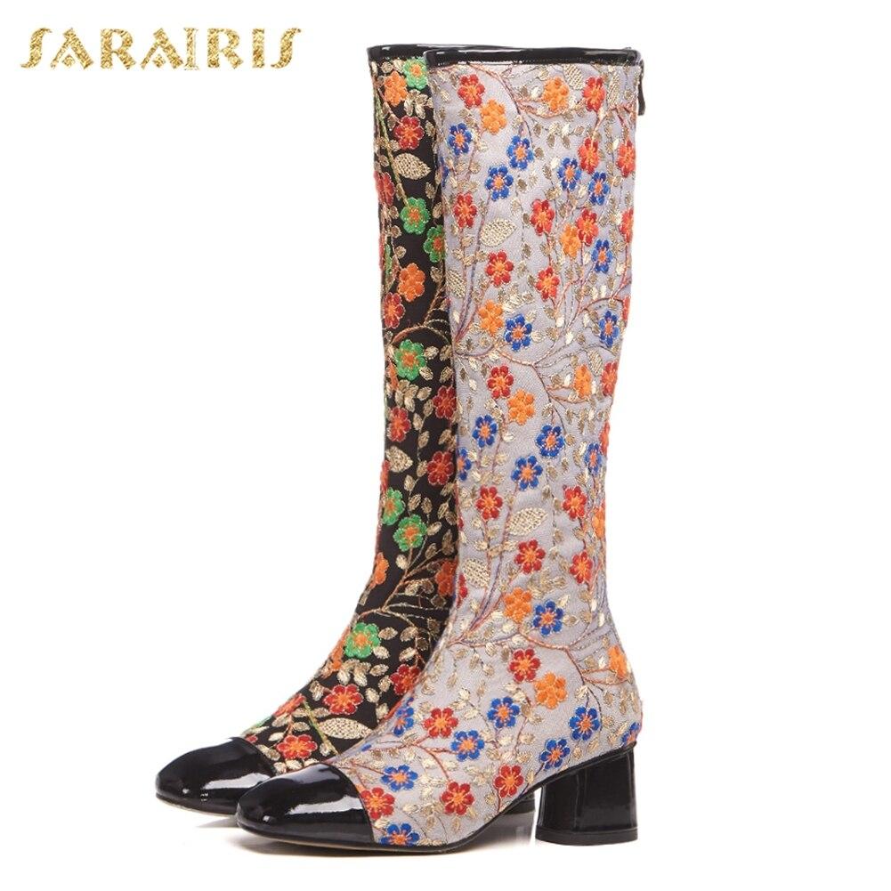 ecee62a51d192 VINLLE 2018 Kadın Çizmeler Kış Ayakkabı Yuvarlak ayak Moda Diz-yüksek  Çizmeler PU Deri Tüm