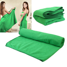 Toallas finas absorbentes de 70x140cm para deporte en la playa, absorbentes para viajes, deporte, gimnasio, secado, Camping, bañador