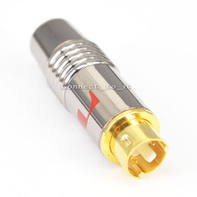 Бесплатная доставка (5 шт./лот) проф s-video ТВ/HD ТВ/DVD/pc 4 контактный разъем адаптер для кабель