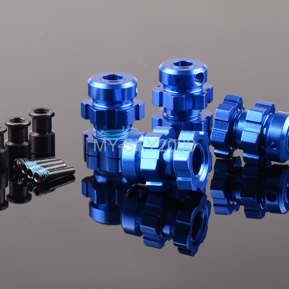 BRUSHLESS Widen 17mm HEX Nuts Hubs For RC Traxxas Raccing E-MAXX Summit 3.3 E-REVO REVO3.3