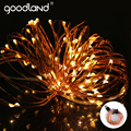 Goodland USB LED String Light Waterproof Copper Wire Outdoor Lighting Strings 10M Fairy Lights For Christmas Wedding Decoration