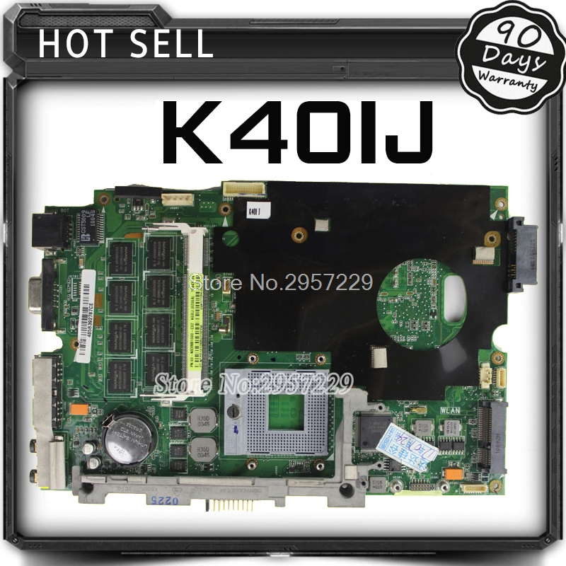 K40IJ Motherboard For ASUS Laptop K40IJ X8DIJ 14-inch Machine Dedicated Notebook Motherboard 60-NVJMB1100-B03 69N0EIM11B03 Test