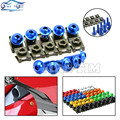 Universal 6mm CNC motorcycle body work fairing bolts screws For suzuki GSXR 600 750 GSXR-R800 750 K6 K7 K8 K9 T-MAX500 TMAX500